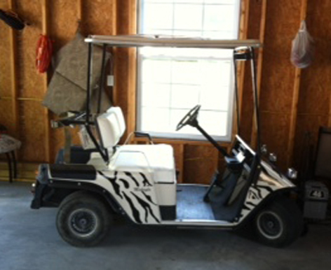 Decal Stickers For Golf Carts