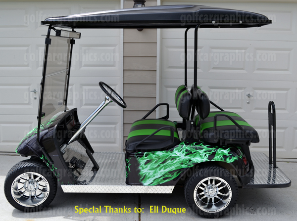 Pushing The Trend In Vinyl Golf Car Wrap Products