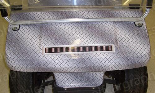 golfcar-wrap-192-diamond-plate-silver-1