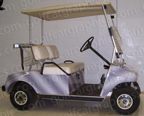 golfcar-wrap-192-diamond-plate-silver-4