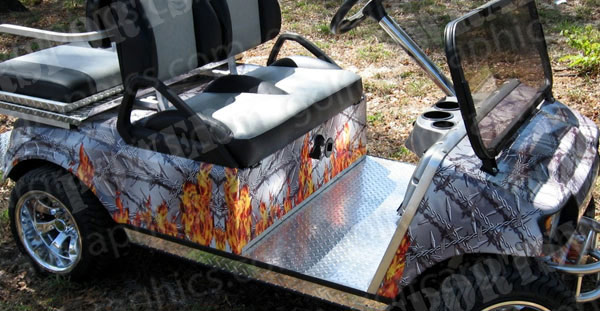 golfcar-wrap-275-flaming-barbed-wire-2