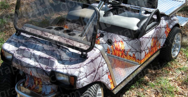 golfcar-wrap-275-flaming-barbed-wire-4