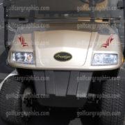 Raptor golf car decal design