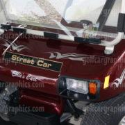 golf cart design Raptor B5 Silver
