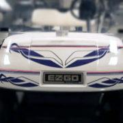 Fusion golf car decal design