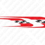 golf car decal design Speedway